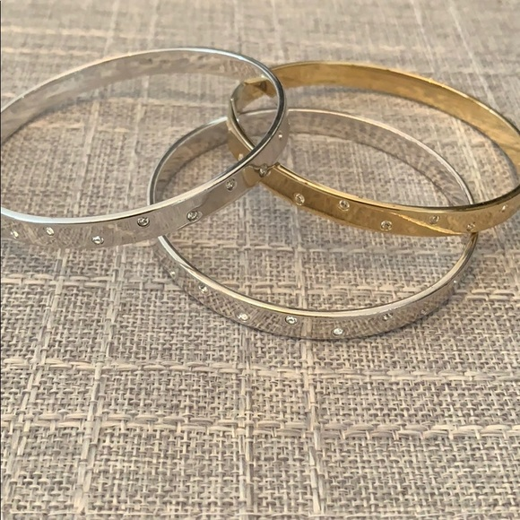 Swarovski Jewelry - Swarovski bangles set of 3